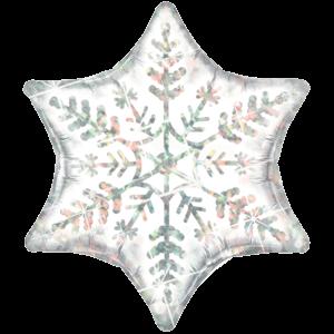 Dazzling Snowflake Foil Balloon Balloon in a Box