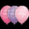 "11"" Assorted Pinks Princess Swirls x 25 overview"