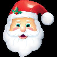 Happy Santa Balloon in a Box