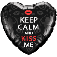 Kisses Keep Calm Balloon in a Box