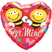 Bee Mine Heart Balloon in a Box