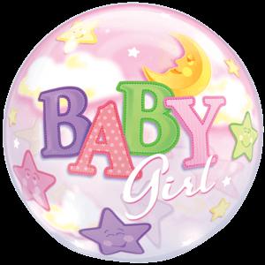Huge Bubble Baby Girl