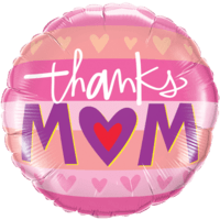 Pink Thank You Mum Balloon in a Box
