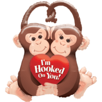 Monkey Fun Love Balloon in a Box