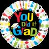 Graduation Single Balloon Category