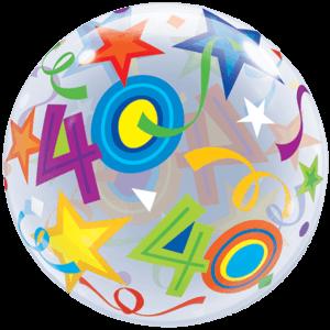 40 Huge Bubble Balloon in a Box