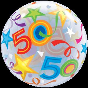 50 Huge Bubble Balloon in a Box