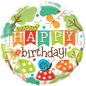 Happy Birthday Garden Balloon in a Box
