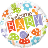 "18"" Banner Welcome Baby overview"