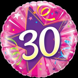 30 Shining Star! Balloon in a Box