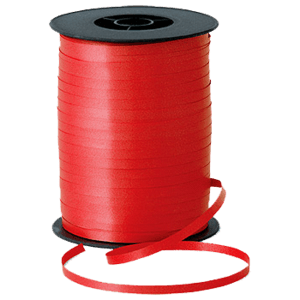 Matt Red Curling Ribbon 500m Product Display