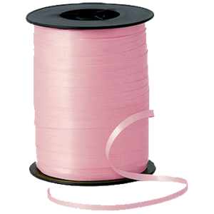 Matt Pink Curling Ribbon 500m Product Display