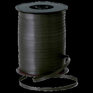 Matt Black Curling Ribbon 500m Product Display