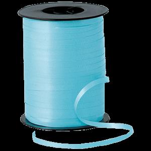 Matt Light Blue Curling Ribbon 500m Product Display
