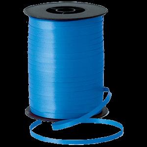Matt Sapphire Blue Curling Ribbon 500m Product Display