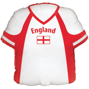 White & Red England Shirt