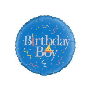 Classic Birthday Boy Balloon in a Box