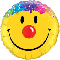 Silly Hair Smile Balloon in a Box