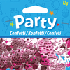 Pink Happy Birthday Confetti overview