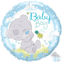 "Tatty Teddy Tiny Baby 18"" Balloon in a Box"