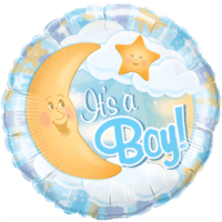 It's a Boy Moon Balloon in a Box