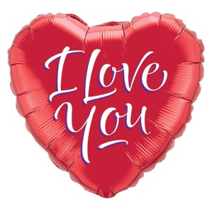 I Love You Script  Balloon in a Box