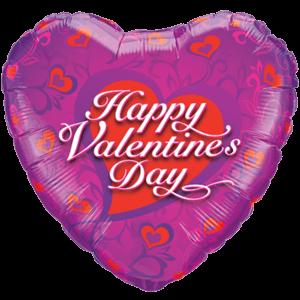 Valentine's Hearts Dainty Balloon in a Box