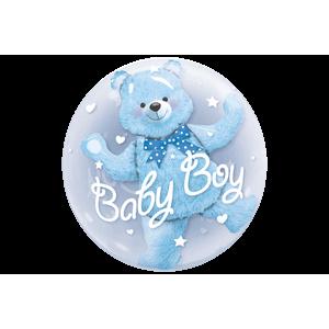 Bear Baby Boy Bubble
