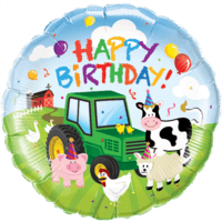 Farm Yard Birthday Balloon in a Box