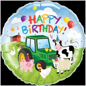 Birthday Barnyard Balloon in a Box