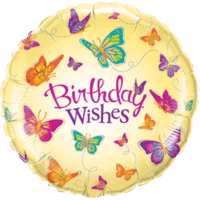 Birthday Wishes Butterflies
