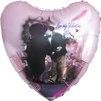 Valentines Kiss Balloon in a Box