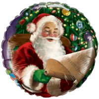 Father Christmas List Balloon in a Box