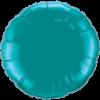 "18"" Teal foil Round Balloon"
