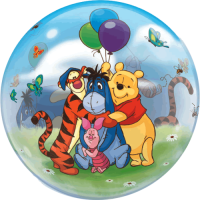 Winnie Party Bubble  Balloon in a Box