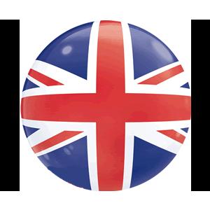 Flag of United Kingdom Balloon in a Box