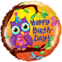 Happy Birthday Purple Owl