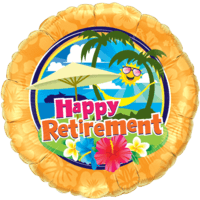 Happy Retirement Smiles Balloon in a Box