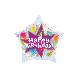 Birthday Party Balloon in a Box