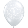 """11"""" Entwined Hearts Diamond x 50 overview"""