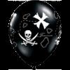 "11"" Black Treasure Map x 50 overview"