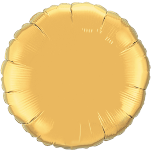 "36"" Metallic Gold foil Round Balloon"