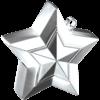 Silver 3D Star Weight