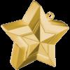 Gold 3D Star Weight