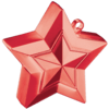Red 3D Star Weight