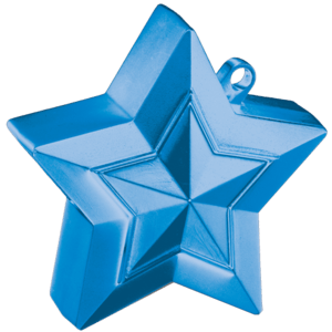 Sapphire Blue 3D Star Weight Product Display