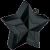 Black 3D Star Weight