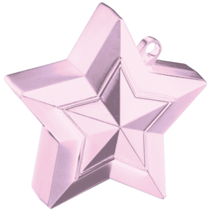Pearl Pink 3D Star Weight Product Display