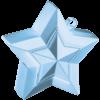 Pearl Light Blue 3D Star Weight