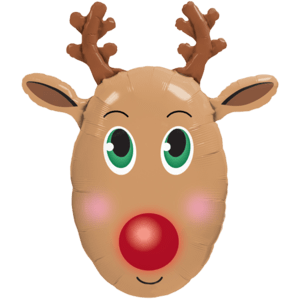 Rudolph the Red Nosed Reindeer Balloon in a Box